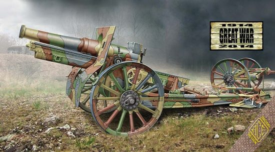Ace Model Cannon de 155 C 1917 makett