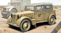 Ace Model 508 CM Coloniale Italien Light Car makett