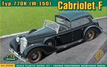 Ace Model Typ 770K (W-150) Cabriolet F makett
