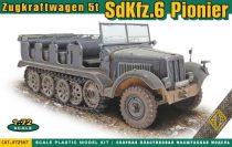 Ace Model Sd.Kfz.6 Pionier Zugkraftwagen 5t makett
