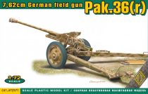 Ace Model Pak.36(r) 7.62cm. German field gun makett