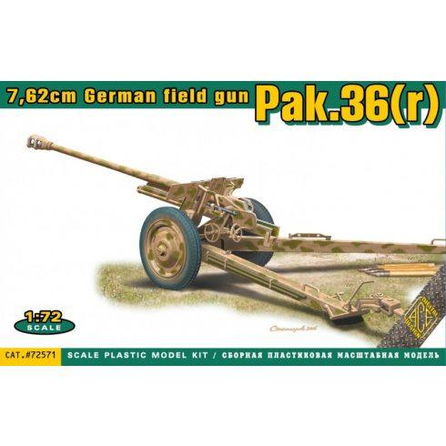 Ace Model Pak.36(r) 7.62cm. German field gun makett