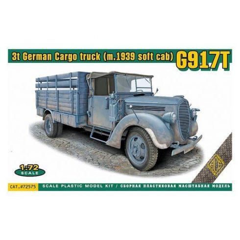 Ace G917T 3t German cargo truck (m.1939 soft cab) makett