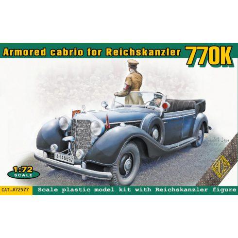 Ace Model 770K Armored Cabrio for Reichskanzler (2 passenger) makett