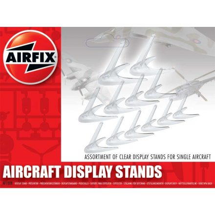 Airfix Assorted Small Stands (Clear)