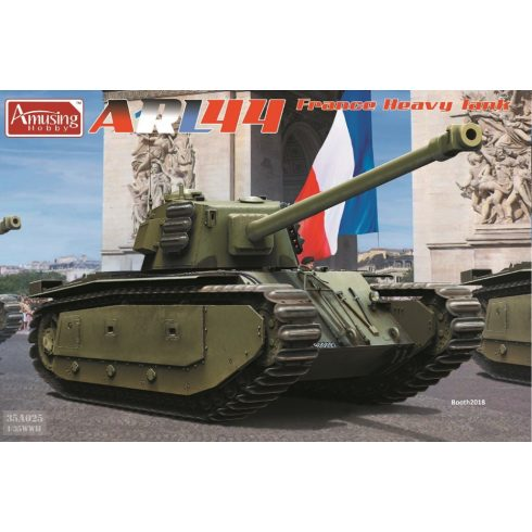 Amusing Hobby ARL44 French Heavy Tank makett