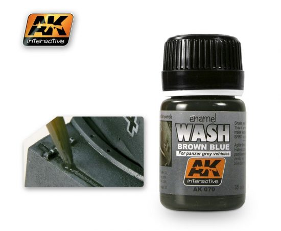 AK Wash For Panzer Grey