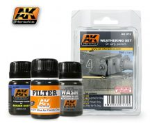 AK Weathering Set For Early Panzers
