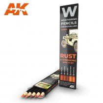 AK akvarell ceruza - RUST & STREAKING EFFECTS SET