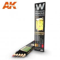 AK akvarell ceruza - CHIPPING & AGING SET
