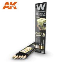AK akvarell ceruza - DIRT MARKS SET