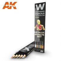 AK akvarell ceruza - METALLICS EFFECT SET