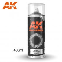 AK FINE PRIMER BLACK SPRAY