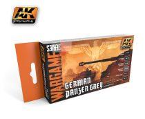 AK German Panzer Grey Set (wargame series)