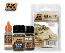 AK Oif & Oef - Us Vehicles Weathering Set