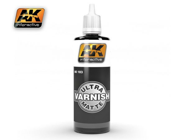 AK Ultra Matte Finish Top Quality Varnish