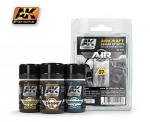 AK Aircraft Engine Weathering Set