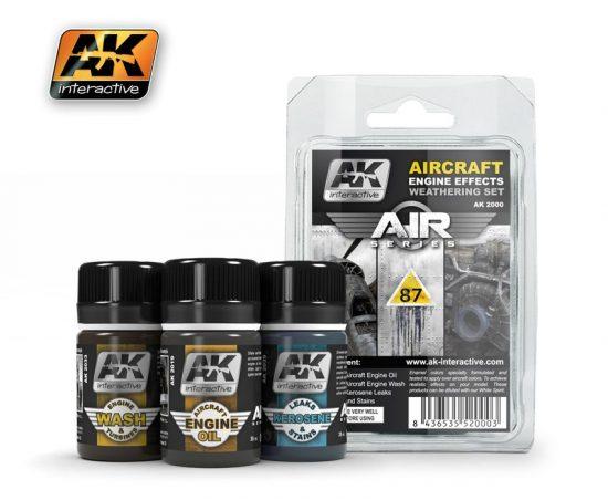 AK Aircraft Engine Weathering Set