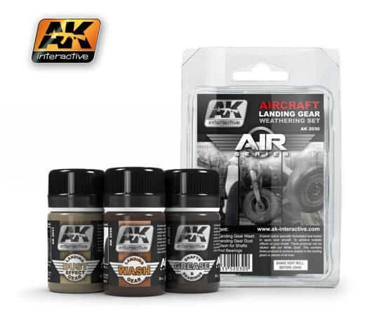 AK Aircraft Landing Gear Weathering Set