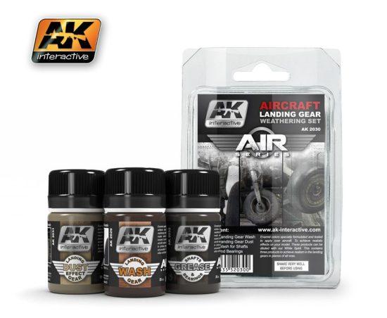 AK Aircraft Landing Gear Weathering Set