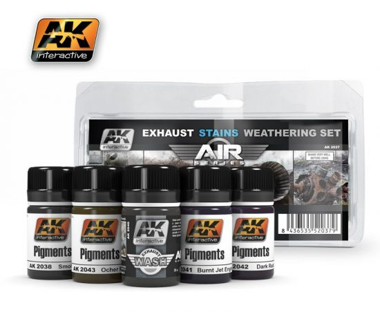 AK Exausts & Stains Weathering Set