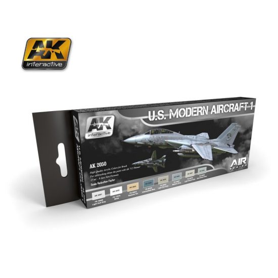 AK U.S. Modern aircraft Vol.1 paint set