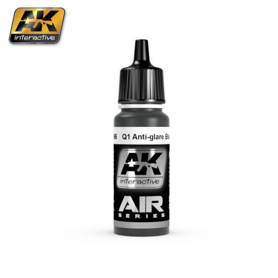 AK Air Series Q1 ANTI-GLARE BLUE-BLACK