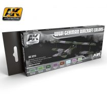 AK WWI GERMAN AIRCRAFT COLORS Set