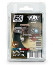 AK WWI RFC & RNAS AIRCRAFT COLORS Set