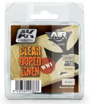 AK CLEAR DOPED LINEN Colors Set