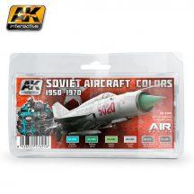 AK Soviet Aircraft Colors 1950-1970