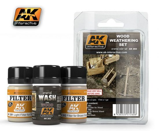 AK Wood Weathering Set