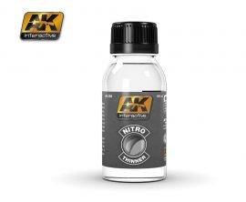 AK Nitro Thinner (For Clear Colors And For Cleaning)