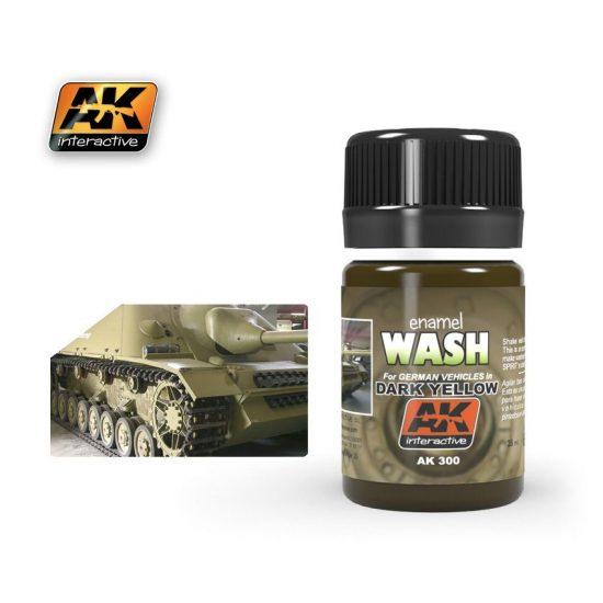AK Dark Yellow Wash