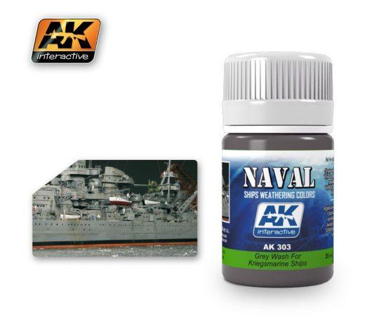 AK Grey Wash For Kriegsmarine Ships