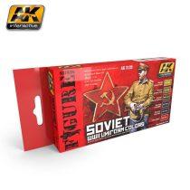 AK SOVIET WWII UNIFORM COLORS