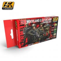 AK WOODLAND AND FLECKTARN CAMOUFLAGES