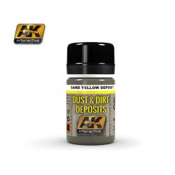 AK Sand Yellow Deposit