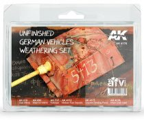 AK UNFINISHED GERMAN VEHICLES WEATHERING SET