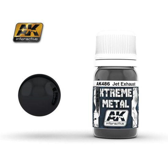 AK Xtreme metal jet exhaust
