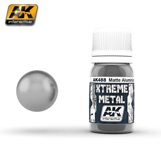 AK Xtreme metal Matte Aluminium