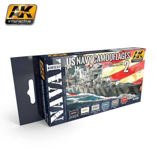 AK US NAVY CAMOUFLAGES VOL. 2