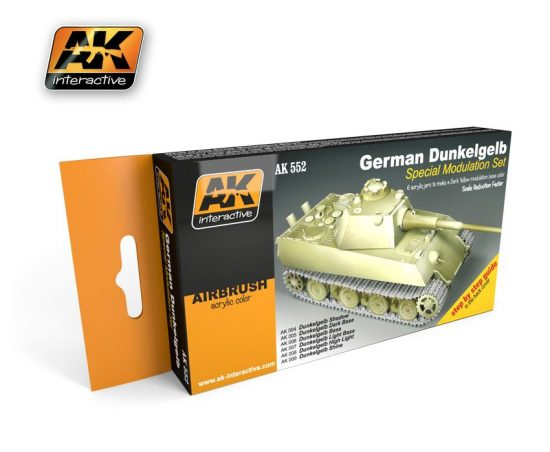 AK German Dunkelgelb Modulation Set