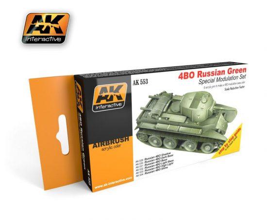 AK 4Bo Russian Green Modulation Set
