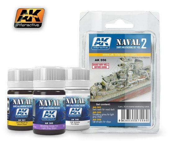 AK Ships Weathering Set Vol.2
