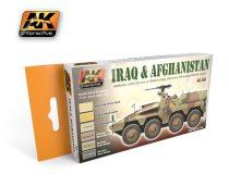 AK Iraq & Afghanistan Set colour set