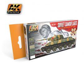 AK Soviet Camouflages Color Set