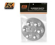 AK alumínium festő paletta 6