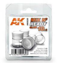 AK MIX & READY GLASS