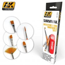 AK SURVIVAL WEATHERING BRUSHES SET